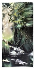 Fairy Glen Beach Towel