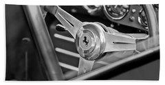 Ferrari Steering Wheel Beach Towel