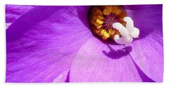 Flower Beach Towel by Gandz Photography