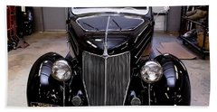 Beach Towel featuring the photograph Ford Restoration by Robert L Jackson