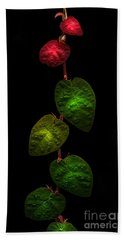 Glowing Branches Beach Towel