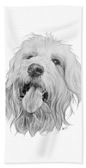 Goldendoodle Beach Towel