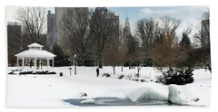 D48l3 Goodale Park Photo Beach Towel