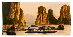Halong Bay - Vietnam Beach Towel