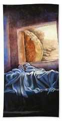 He Is Risen Beach Sheet