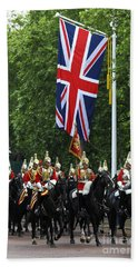 Household Cavalry Life Guards Beach Towel