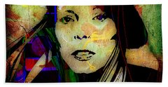 Joni Mitchell Collection Beach Towel