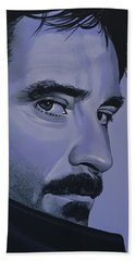 Kevin Kline Beach Towel by Paul Meijering