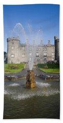 Kilkenny Castle - Rebuilt In The 19th Beach Towel