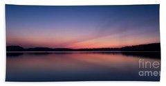 Lake Lanier After Sunset Beach Towel