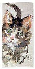 Little Cat Beach Towel