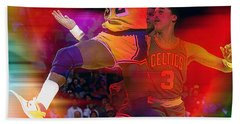 Magic Johnson Beach Towel