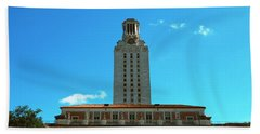 Main Building Of University Of Texas Beach Towel by Panoramic Images