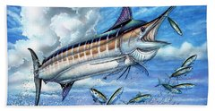 Marlin Queen Beach Towel