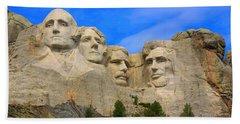 Mount Rushmore South Dakota Beach Sheet
