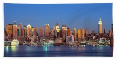 Nyc, New York City New York State, Usa Beach Towel