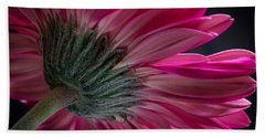 Beach Towel featuring the photograph Pink Flower by Edgar Laureano