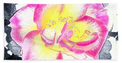 Rose 3 Beach Towel