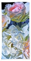 Rose 59 Beach Sheet by Pamela Cooper