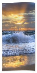 Splash Sunrise Beach Towel