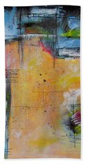 Beach Towel featuring the painting Spring by Nicole Nadeau