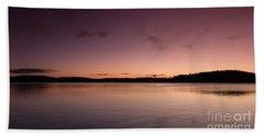 Sunrise On Lake Lanier Beach Towel