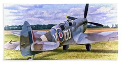 Supermarine Spitfire T9 Beach Towel