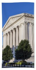 Supreme Court Building Beach Towel