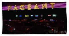 Beach Towel featuring the photograph The Pageant Edited by Kelly Awad