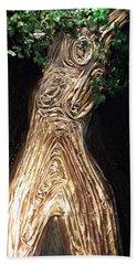 Tree Goddess Beach Sheet