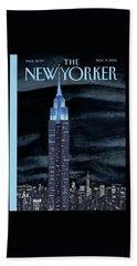 New Yorker November 19th, 2012 Beach Towel
