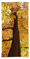 Up Tree Beach Towel