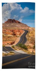 Valley Of Fire Beach Towel