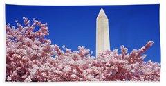 Washington Monument Washington Dc Beach Towel