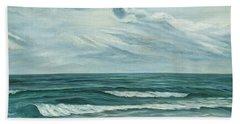 Waving Sea Beach Towel