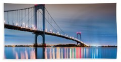 Whitestone Bridge Beach Towel