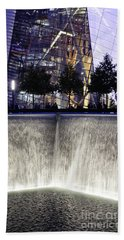World Trade Center Museum Beach Towel