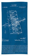 Wright Brothers Flying Machine Patent Beach Sheet