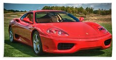 2001 Ferrari 360 Modena Beach Sheet