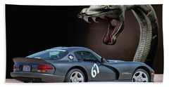 2002 Dodge Viper Beach Towel