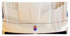 2005 Maserati Mc12 Hood Emblem Beach Towel