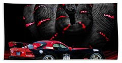 2010 Dodge Viper Beach Towel