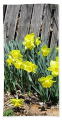 Easter Springtime In South Beach Towel