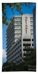 2121 Building Beach Towel