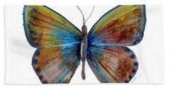 22 Clue Butterfly Beach Towel