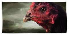 22. Game Hen Beach Towel