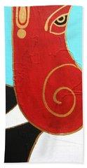 28 Shashwat Ganapati Beach Towel
