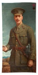 2nd Lieutenant Alfred Victor Smith, Vc Beach Towel