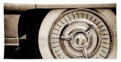 1958 Oldsmobile 98 Wheel Beach Towel