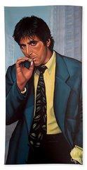 Al Pacino  Beach Towel by Paul Meijering